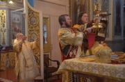 Высокопреосвященнейший архиепископ Иоасаф совершил Божественную литургию в Кафедральном соборе Рождества Пресвятой Богородицы