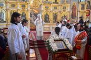 В день Сретения Господня Высокопреосвященнейший архиепископ Иоасаф совершил богослужения в Кафедральном соборе Рождества Пресвятой Богородицы