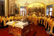 Високопреосвященніший митрополит Іоасаф очолив вечірнє богослужіння з Чином прощення