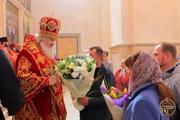 Митрополит Иоасаф совершил праздничную Литургию в Вознесенском соборе Свято-Елисаветинского мужского монастыря