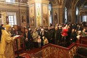 Правлячий архієрей звершив Божественну літургію в Кафедральному соборі Різдва Божої Матері