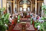 Митрополит Іоасаф в день Пʻятидесятниці звершив богослужіння у Кафедральному соборі Різдва Пресвятої Богородиці
