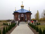 Освячення нового храму у с. Скаліва Новоархангельського благочиння