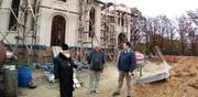 Митрополит Иоасаф посетил строящийся храм с. Межиричка Голованевского района