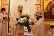 Митрополит Іоасаф очолив богослужіння Престольного свята в Вознесенському соборі Свято-Єлисаветинського монастиря