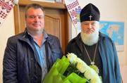 Митрополит Иоасаф поздравил главу Великовисковской ОТГ Флоря А.В. с вступлением в должность