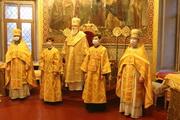 Митрополит Иоасаф совершил Божественную литургию в Кафедральном соборе
